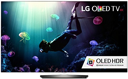 6. LG Electronics OLED55B6P Flat 55-Inch 4K Ultra HD Smart OLED TV