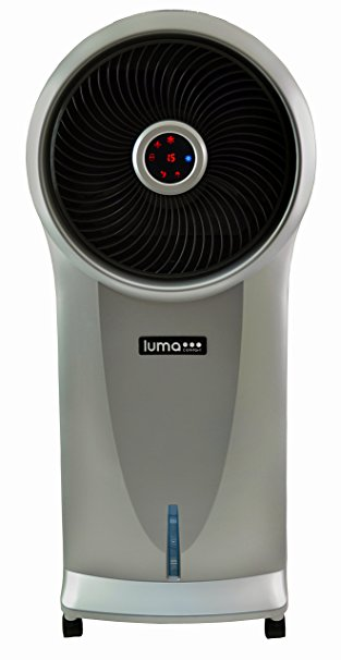 4. Luma Comfort EC110S Portable Evaporative Cooler with 250 Square Foot Cooling, 500 CFM