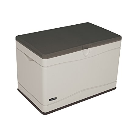 8. Lifetime 60103 Deck Storage Box