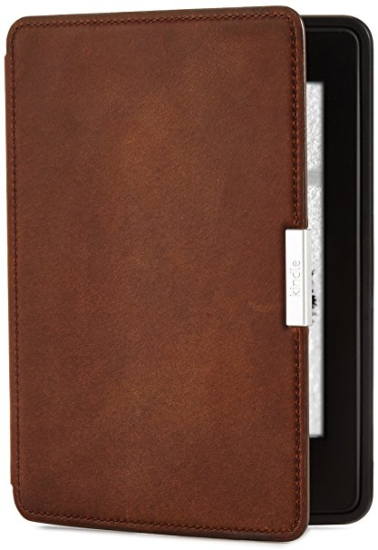 3. Premium Leather Cover