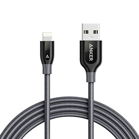 9. Anker PowerLine+ Lightning Cable