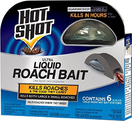 1. Hot Shot Ultra Liquid Roach Bait