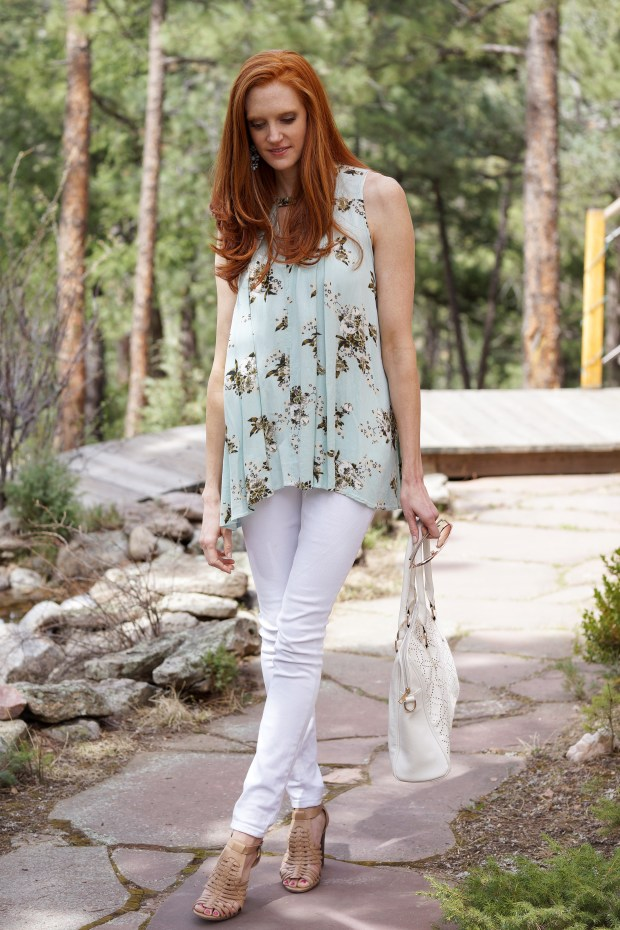 Flowy Mint Tunic