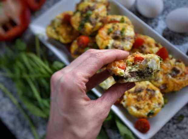 Easy Easter Brunch Egg Muffins