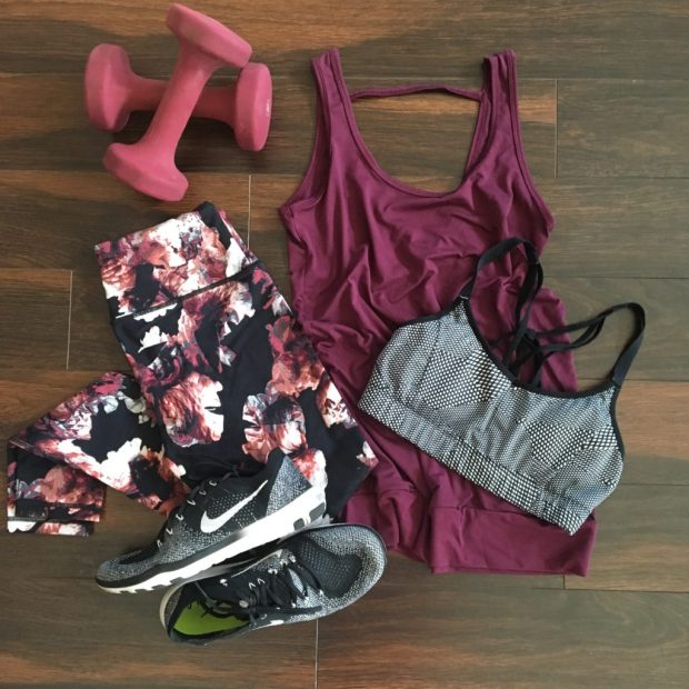 Workout Wednesday + Floral Leggings