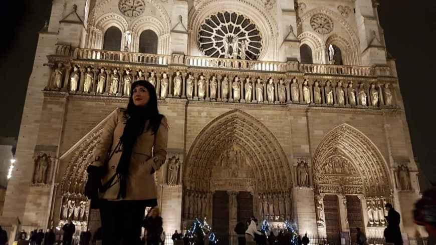 Anoitecer em Notre Dame