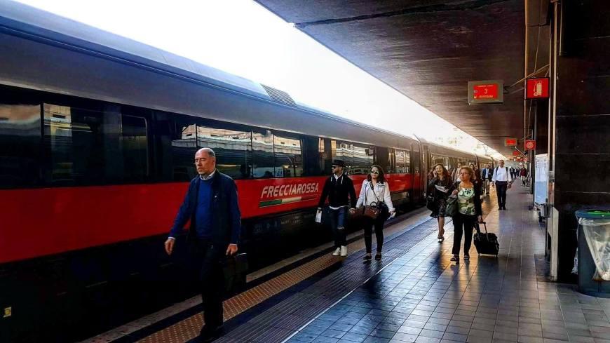 Viagens de Trem pela Europa - Trem na Itália