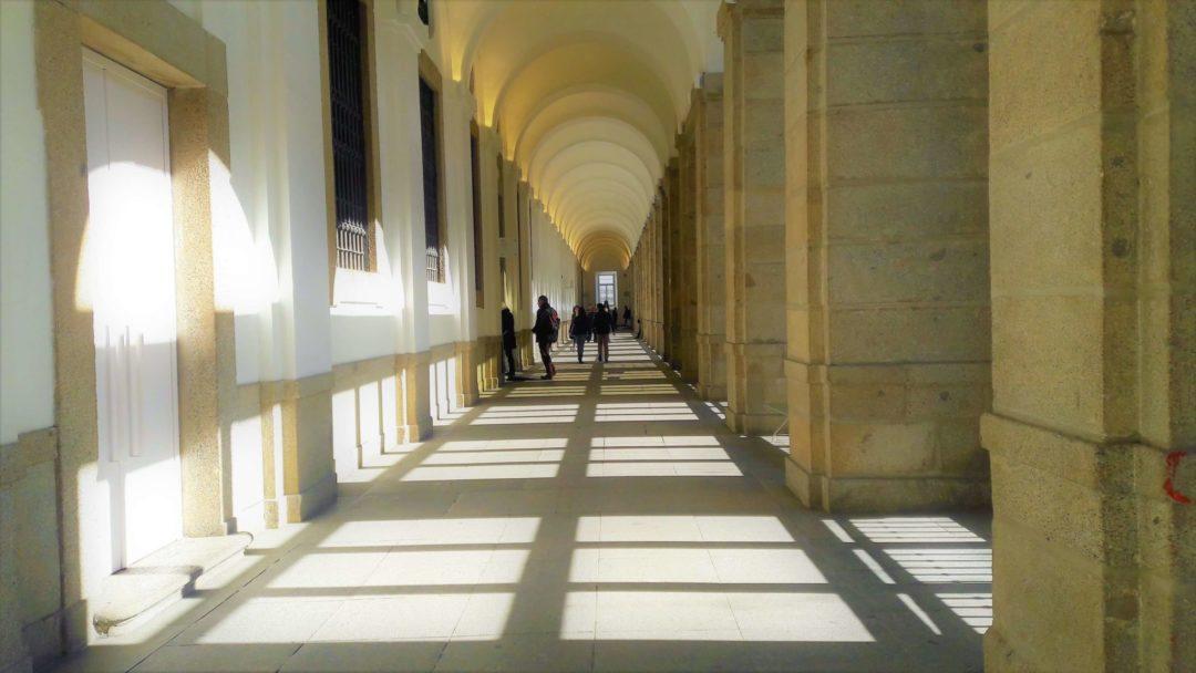 Museu Reina Sofia - corredores