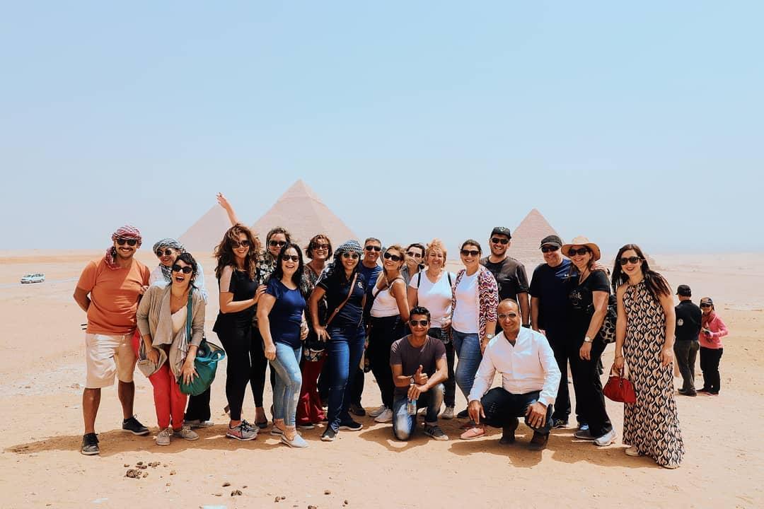 Grupo de viagem para o Egito - Janeiro de 2019