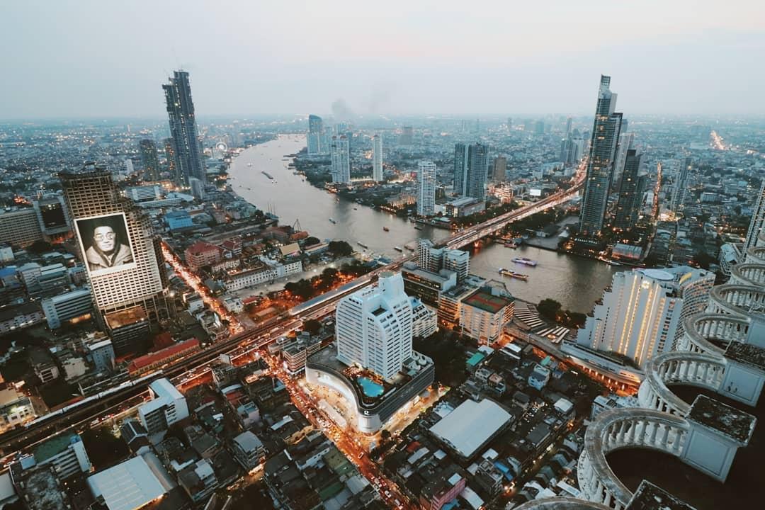 O melhor de Bangkok - Hotel Lebua