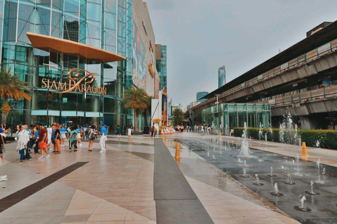 O melho de Bangkok - Siam Center