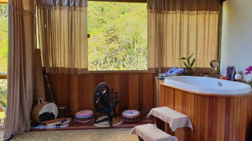 O que fazer em Monte Verde - Sala de terapias do Lavandas