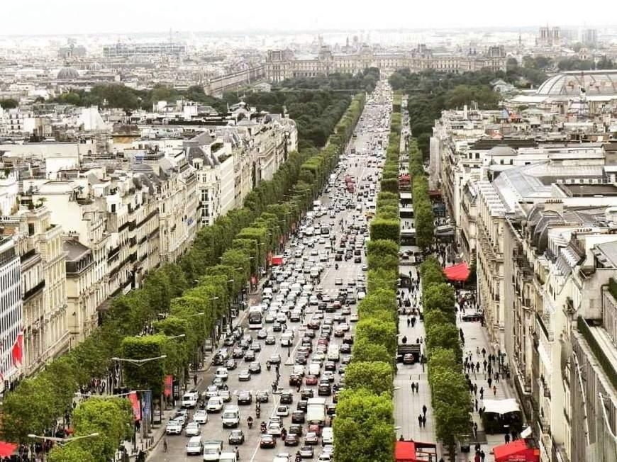 Lugares para visitar em Paris - Champs-Elysées