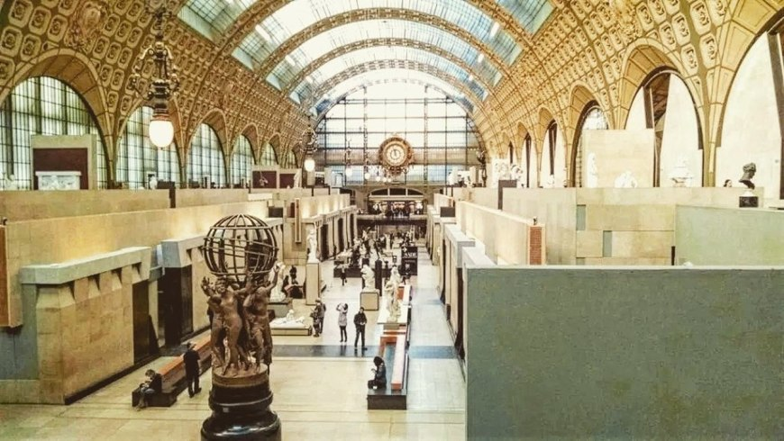 Lugares para visitar em Paris - Museu D'Orsey