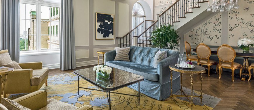 The Plaza Hotel - Suite