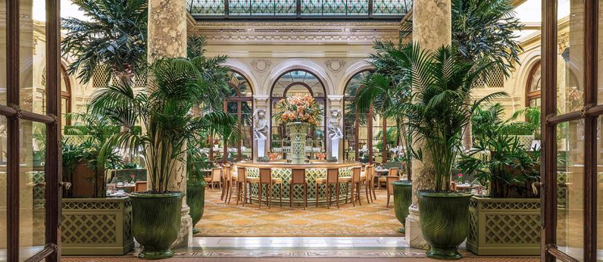 The Plaza Hotel - The Palm Court