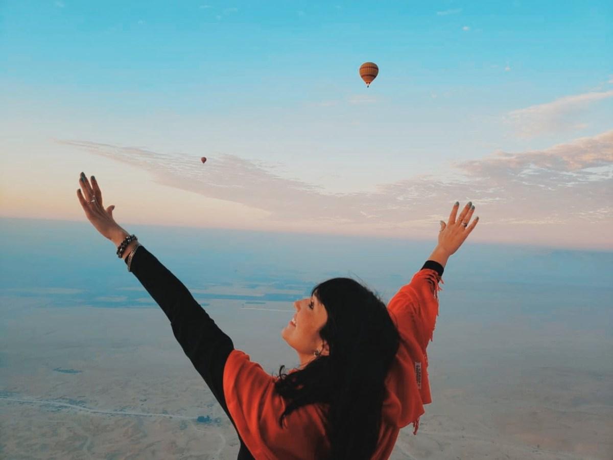 Pontos turísticos do Egito - Passeio de balão na Vila dos Reis