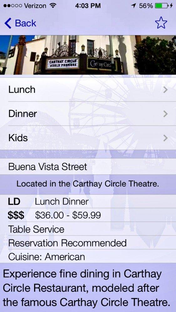 iphone apps for Disneyland 1