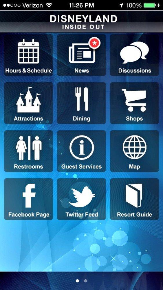 iphone apps for Disneyland 5