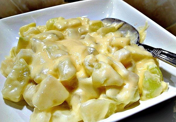 Dijon Cream Kohlrabi