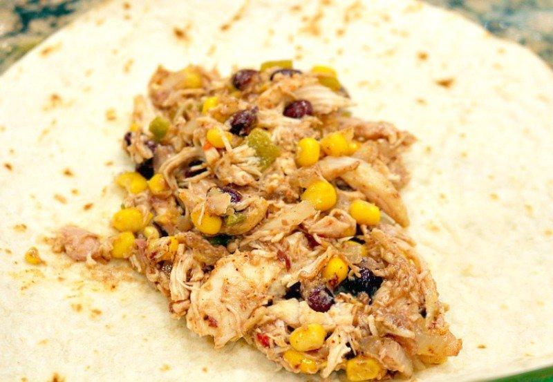 Black Bean Chicken Chile Enchiladas6