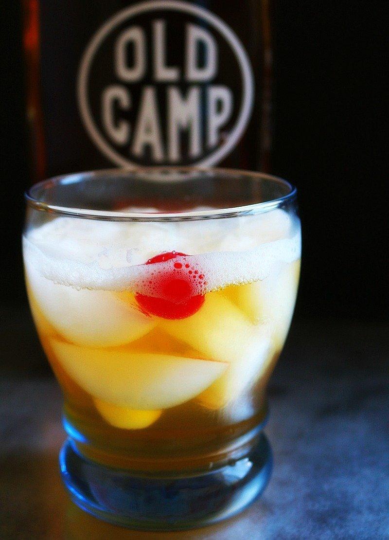 Florida Georgia Line + Old Camp Whiskey = Pecan Peach Tea Sour7