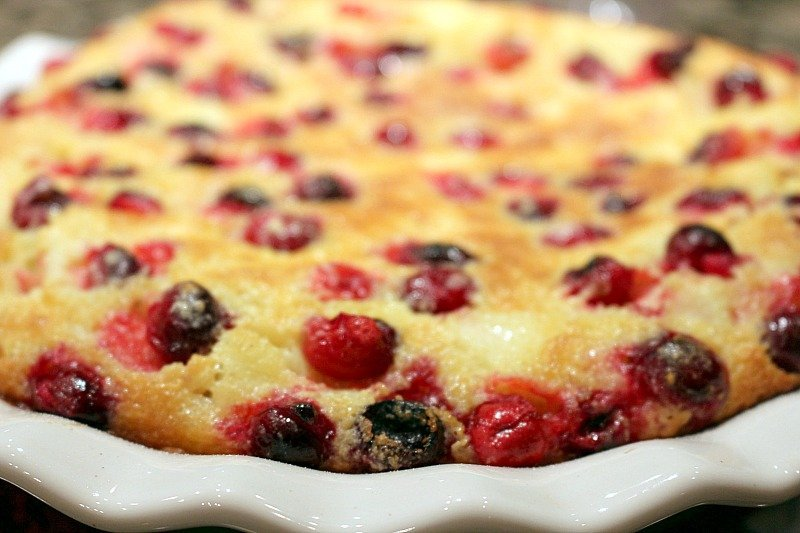 Cranberry Pear Clafoutis4