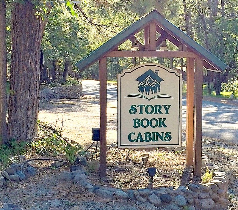 Story book cabins ruidoso a cork fork passport for Cabin rentals near ski apache