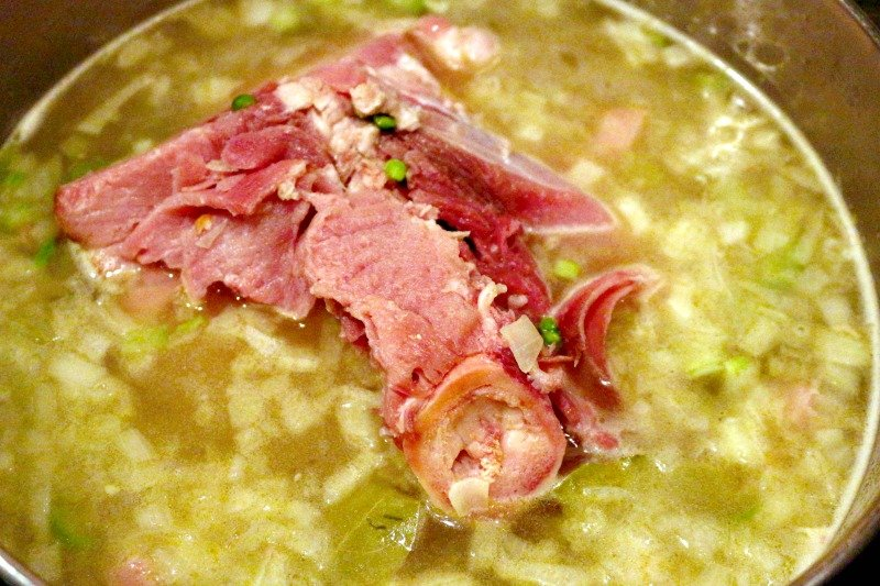 Hearty Split Pea Soup2
