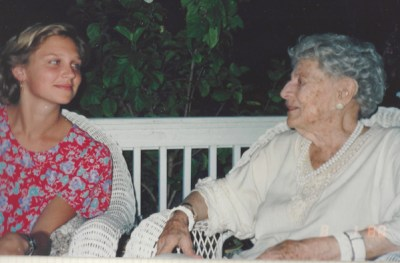 Sophoa and Mrs. Saul in 1988