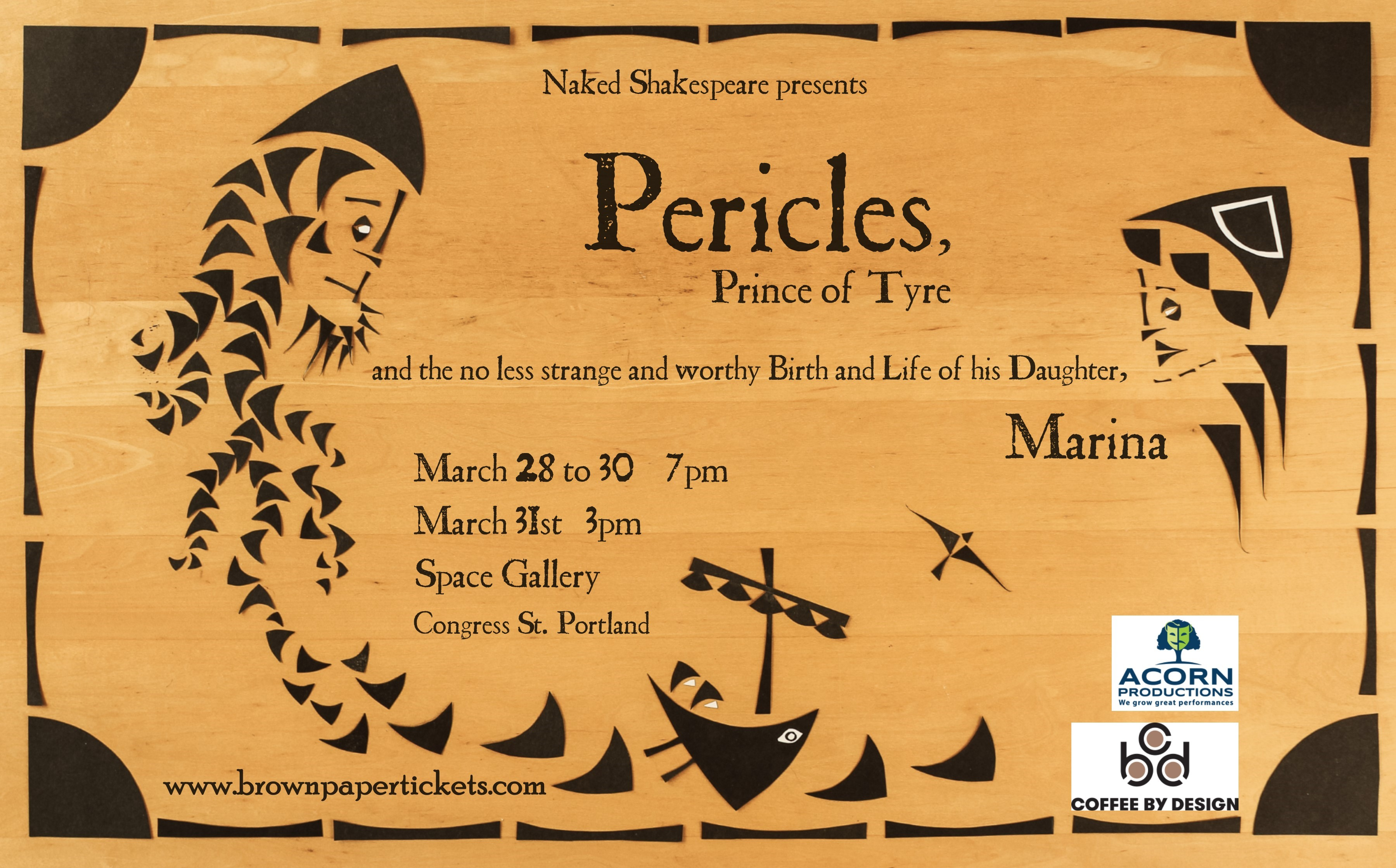 Naked Shakespeare Pericles Poster
