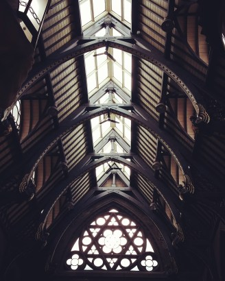 Iconic hammer-beam roof