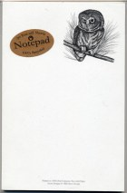 Saw-whet Owl Notepad