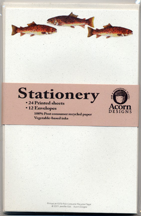 Brown Trout Stationery