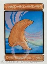 Polar Bear Notecard