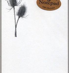 Teasel Notepad