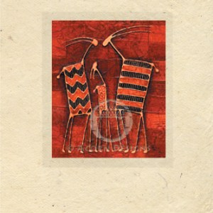 Affection Lokta Card