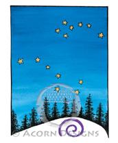 North Sky Lokta Card