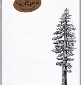 Redwood Tree Notepad