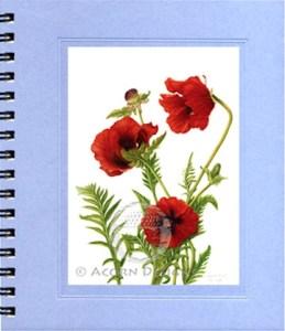 Oriental Poppy Journal