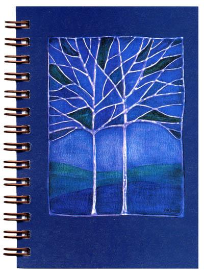 Cover image - Blue Dusk Mini Journal