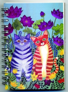 Cover image - Cats Mini Journal