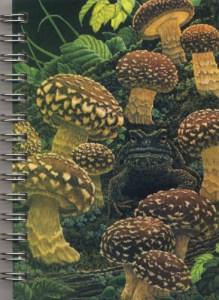 Cover image - Shiitake Mushrooms Mini Journal