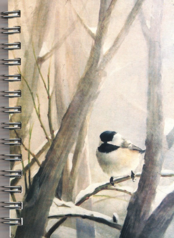 Cover image - Black-capped Chickadee Mini Journal
