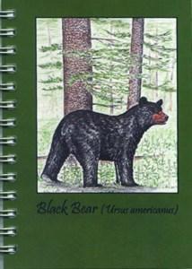 Cover image - Black Bear Mini Journal