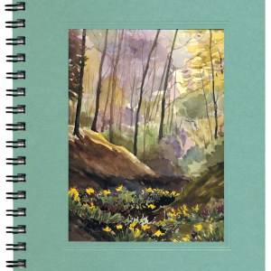 Spring Woods Notecard