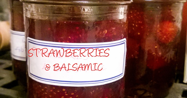 BALSAMIC ROSEMARY STRAWBERRY JAM