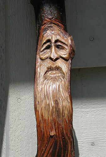 Wood Spirit in Crabapple