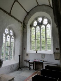 The west window to the nave