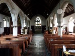 Lanivet: the nave